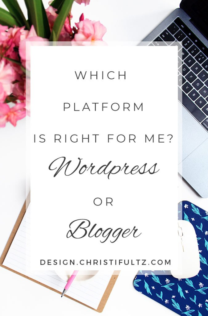 Wordpress vs Blogger for new blogs and websites