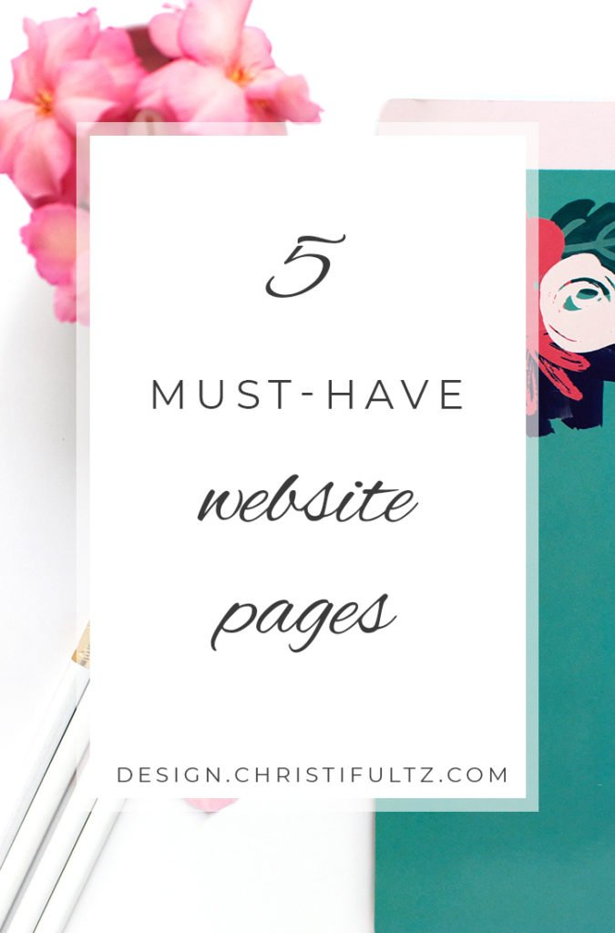 5 must have pages for your blog or website