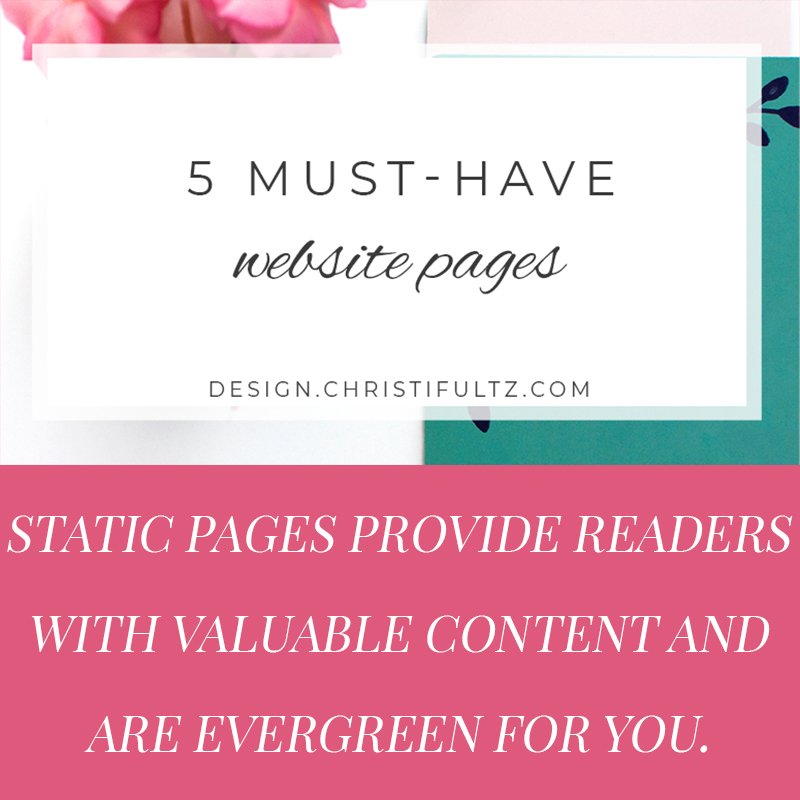 5 must-have pages for your blog or website