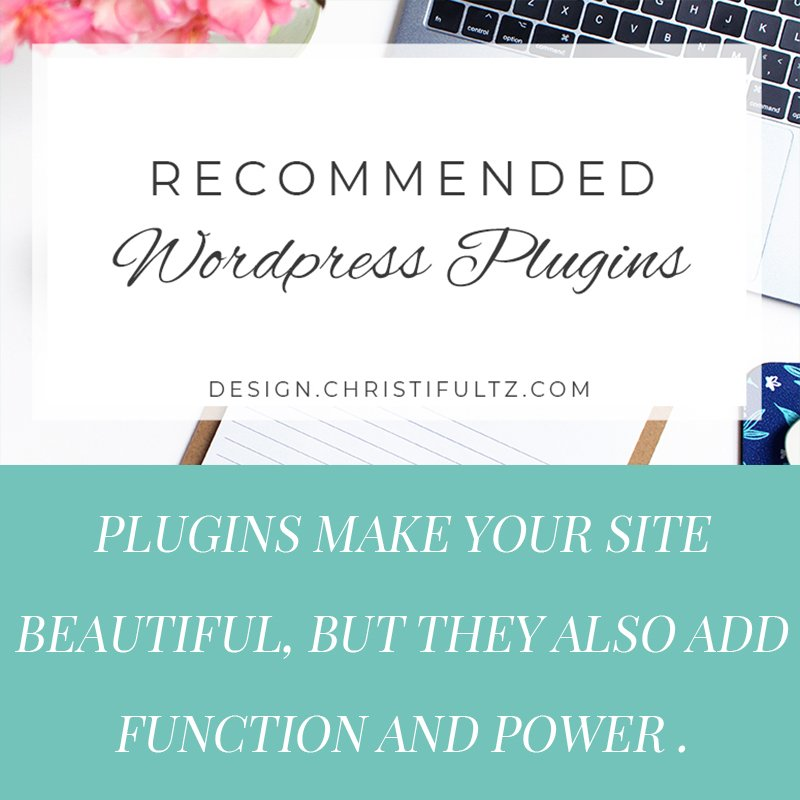 recommended wordpress plugins for new sites