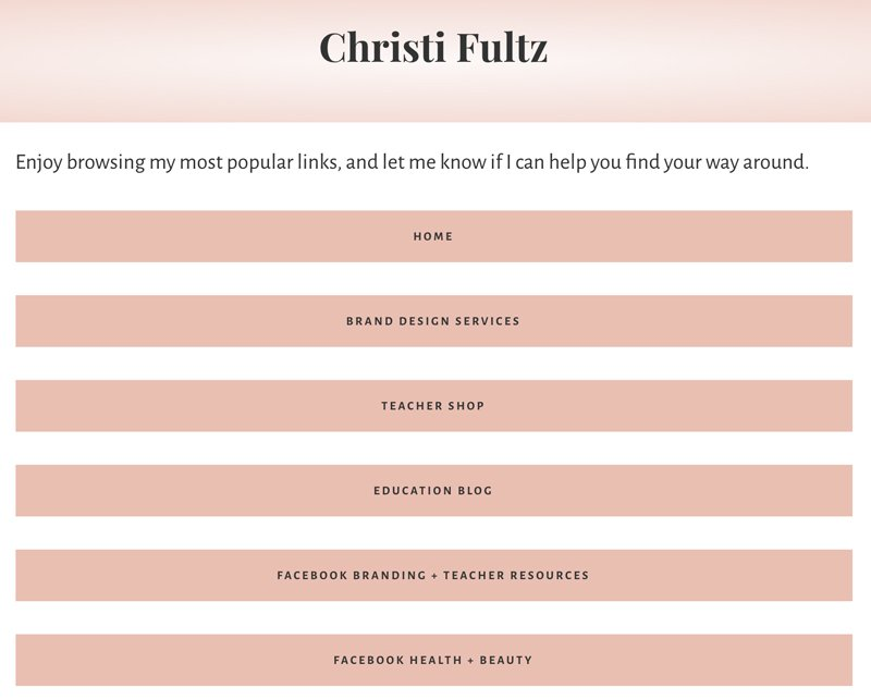 Custom WordPress website design + branding