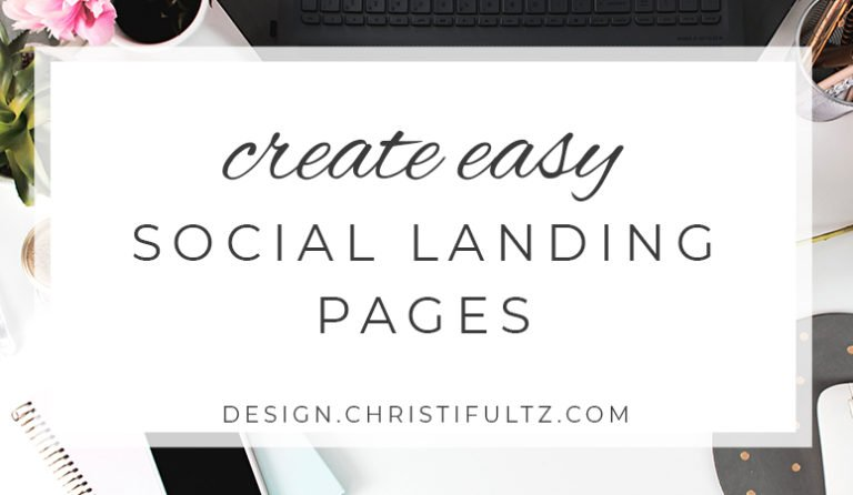 Why You Need a Social Landing Page