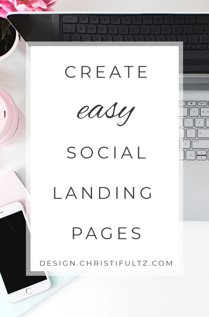 how to create social landing pages with wordpress, link tree, or tap bio.