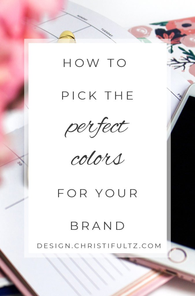 how to pick brand colors