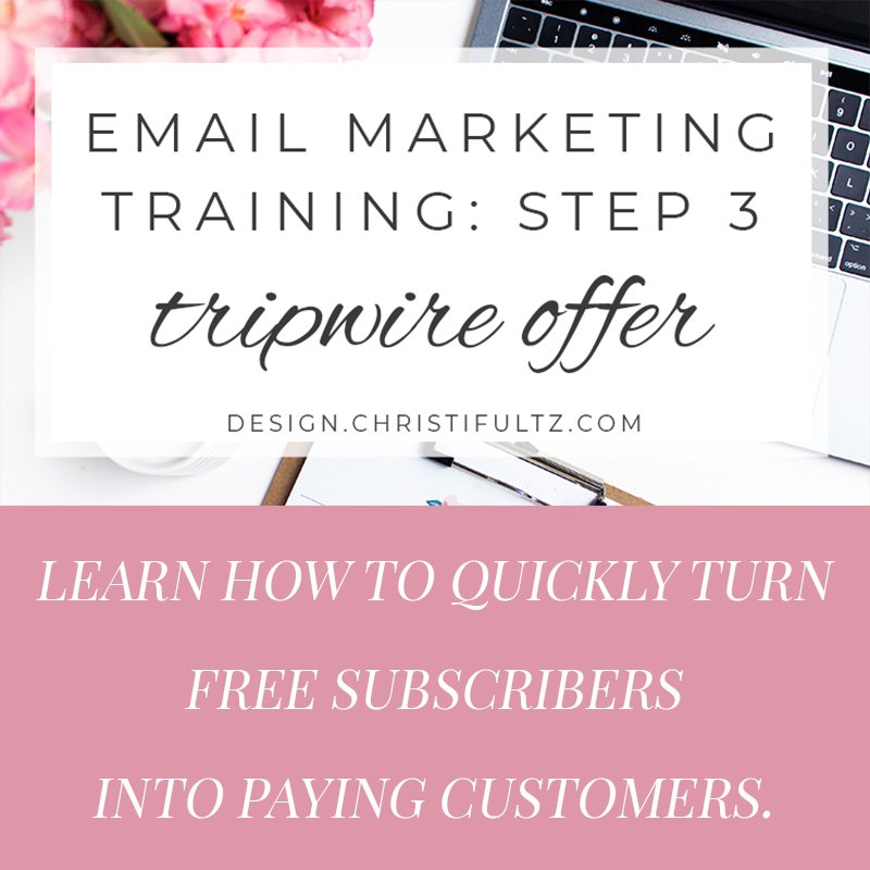 fee email marketing training: tripwire offers