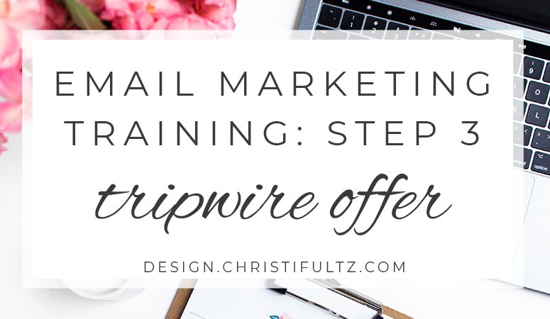 Effective Email Marketing Training Series: Step 3 Thank You Page + Tripwire Offer