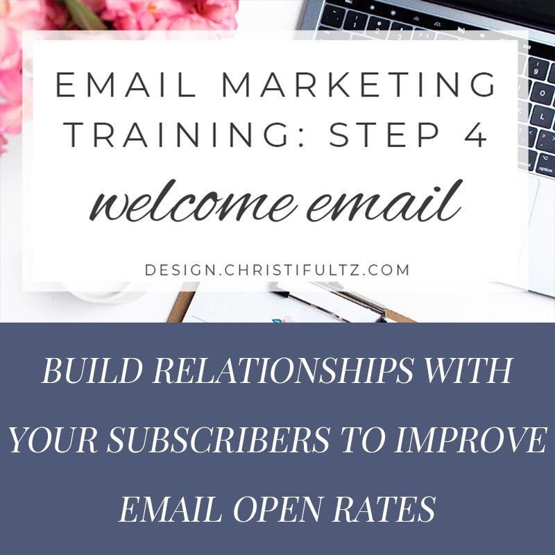 fee email marketing training: welcome emails