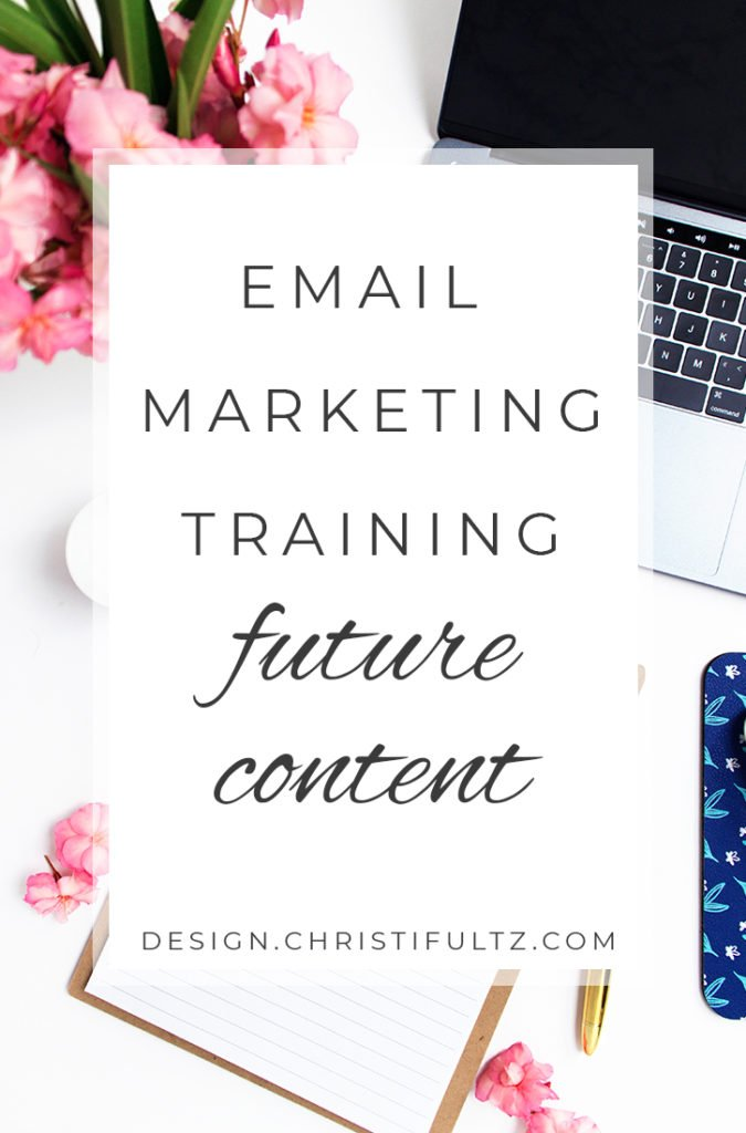 free email marketing training: planning content