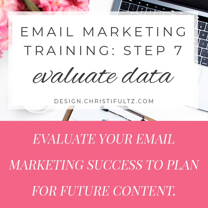 fee email marketing training: evaluate data