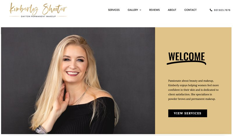Dynamic WordPress website site design by Christi Fultz