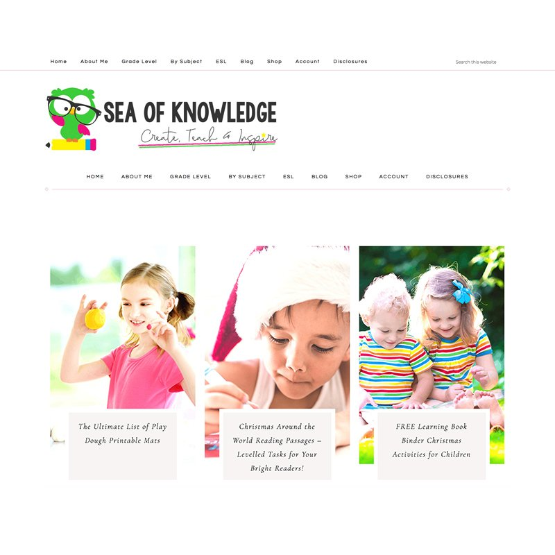 custom wordpress websites and theme installation services by Christi Fultz, especially for teacherpreneurs and teacher bloggers