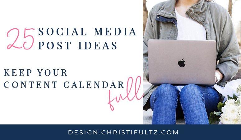 25 social media post ideas; 5 content strategies to improve engagement