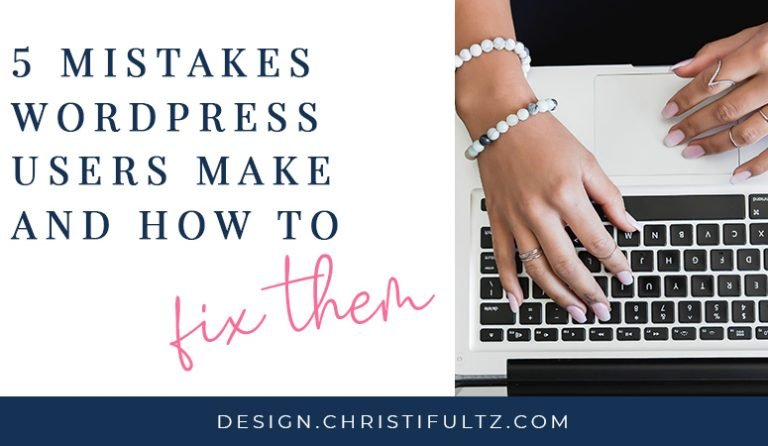 5 Mistakes WordPress Site Owners Make