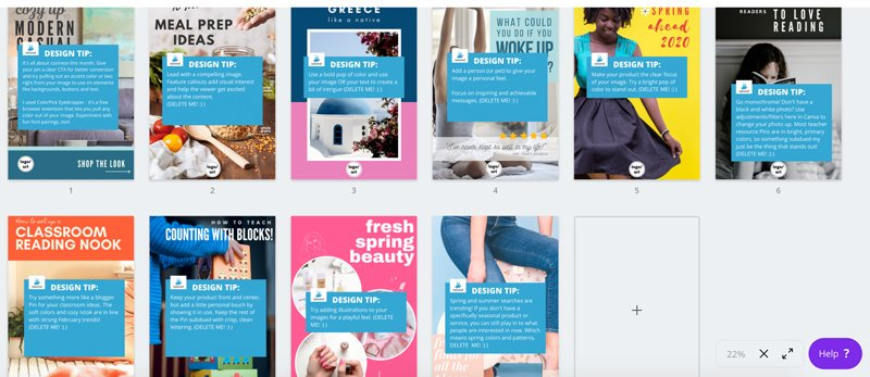 Your Pinterest marketing strategy can be made easy with Tailwind and Canva templates. Learn how to create fresh content for 2020 and batch schedule pins with SmartGuide interval pinning.