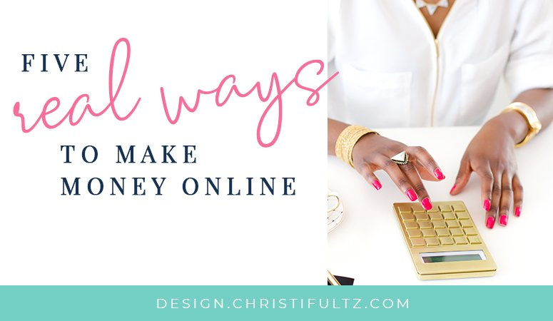 five real ways to make money online