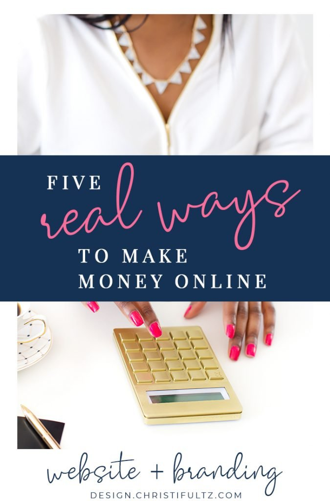 5 Real Ways To Make Money Online: Learn simple ways to make extra cash from home through your website, blog, or social media accounts. Even beginners can generate affiliate sales, write sponsored content, and build passive income.