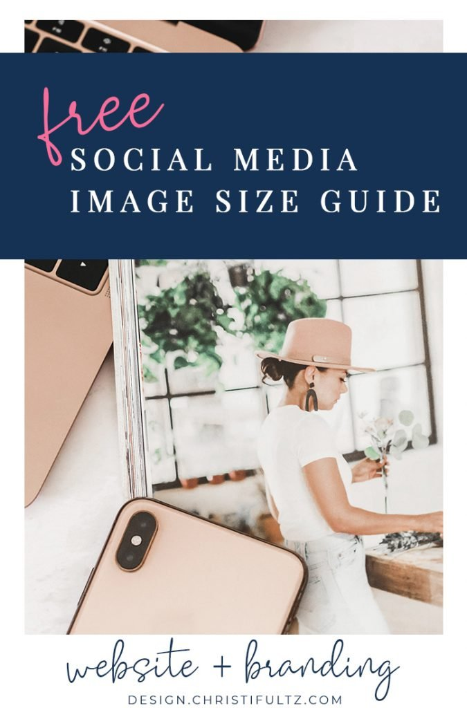 Learn how to create appropriately sized graphics to promote blog posts across with this free social media image size guide.
