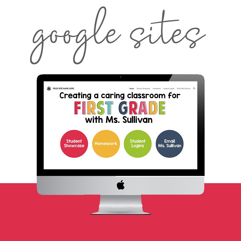 Stuck with Google Sites? Save time with this affordable package and your site will be ready in 5 days or less! #teachergooglesites via Design by Christi Fultz
