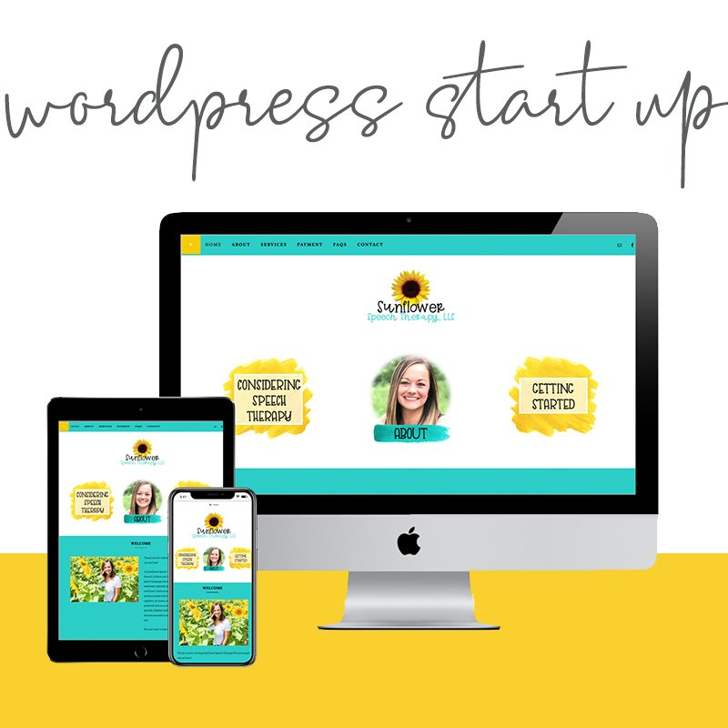 Custom WordPress website design, logo, and branding for teacher entrepreneurs and education bloggers via Design by Christi Fultz. Marketing especially for small business bloggers, boutique owners, life coaches, wellness coaches, therapists, and educators.