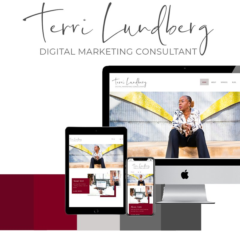 Custom logo + WordPress website design for entrepreneurs. Services especially for teacher bloggers, boutique owners, life coaches, and recipe + lifestyle bloggers.