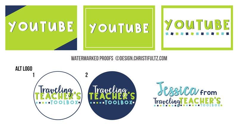 teacher logo design by christi fultz