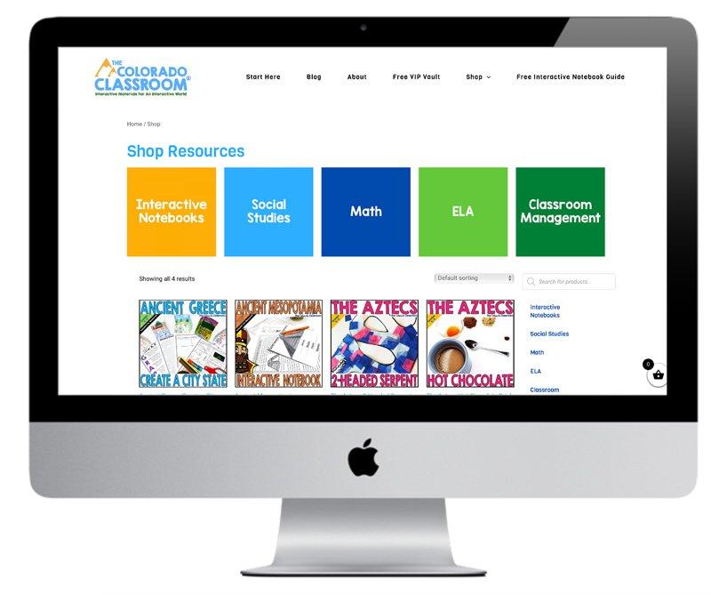 Wordpress website store woocommerce
