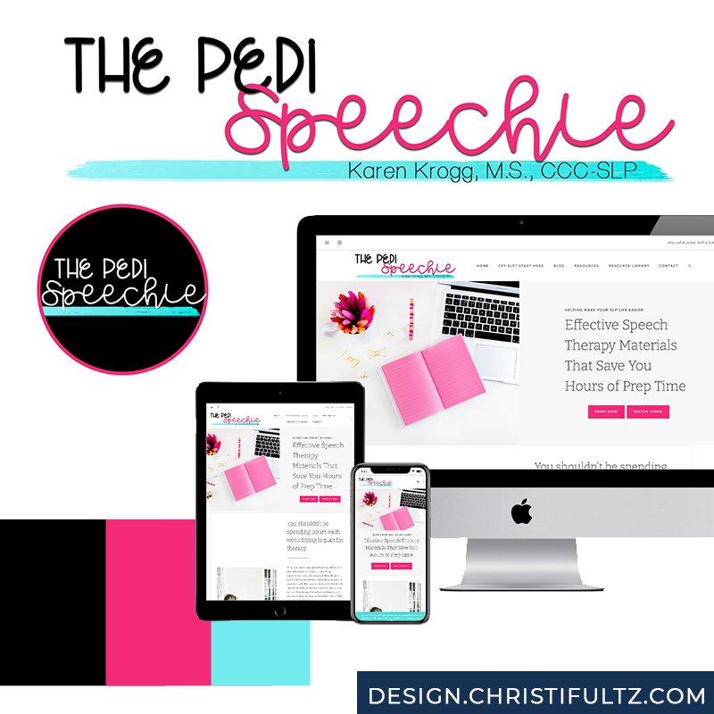 The Pedi Speechie: WordPress Teacher Website