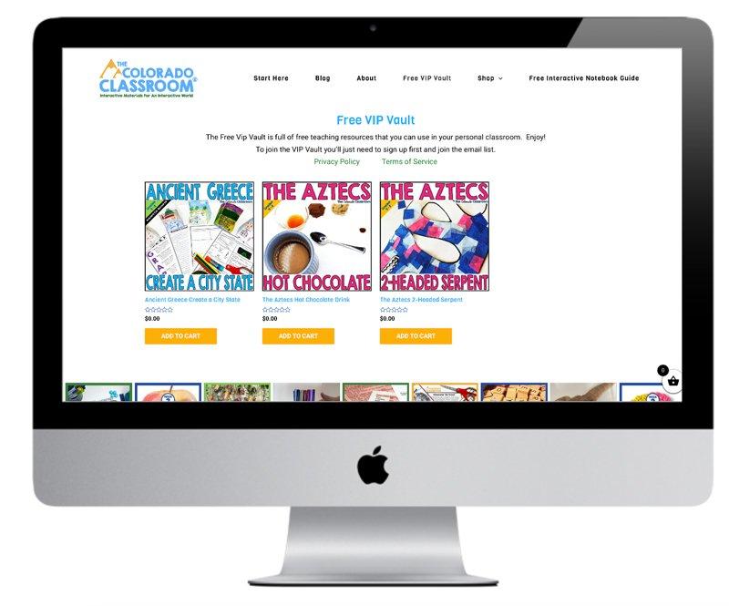 Wordpress free resource library