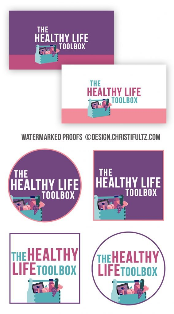 Wordpress Website Design and branding for health and wellness coaches