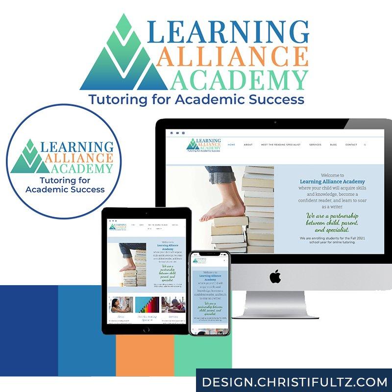 Tutoring WordPress Website: Learning Alliance Academy