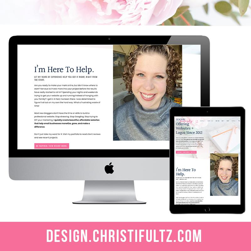 Major WordPress Update: Design by Christi
